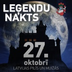 Night of Legends at Jaunauce castle